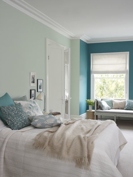 it s amazing what you can achieve with colour blocking. Black Bedroom Furniture Sets. Home Design Ideas