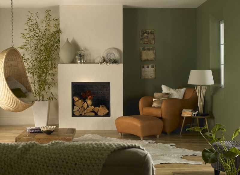 Hot colour trend green 5 ways to make the colour everyone is talking about work for you for Dulux colour schemes for living rooms