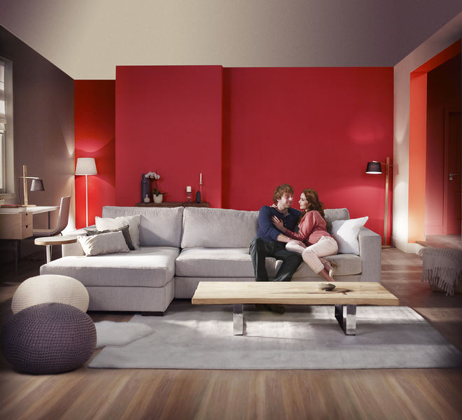Valentine's Style from Dulux Amazing Space Paint